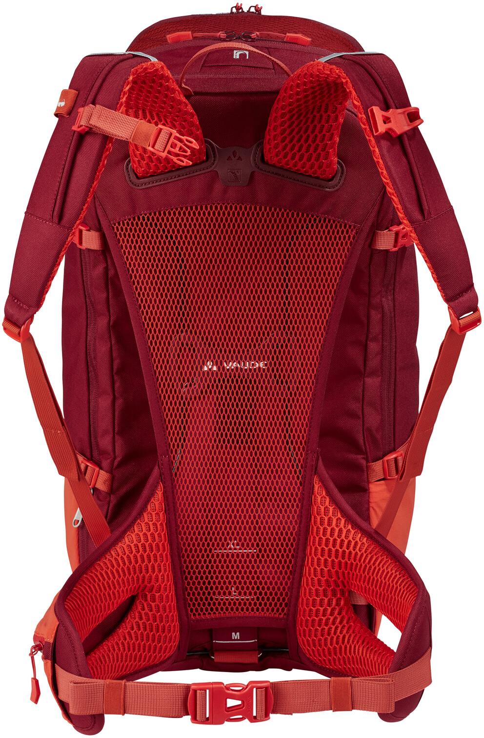 VAUDE Bike Alpin 32+5 Ryggsäck röd - till fenomenalt pris på Bikester a0fd6b0d0c7f0